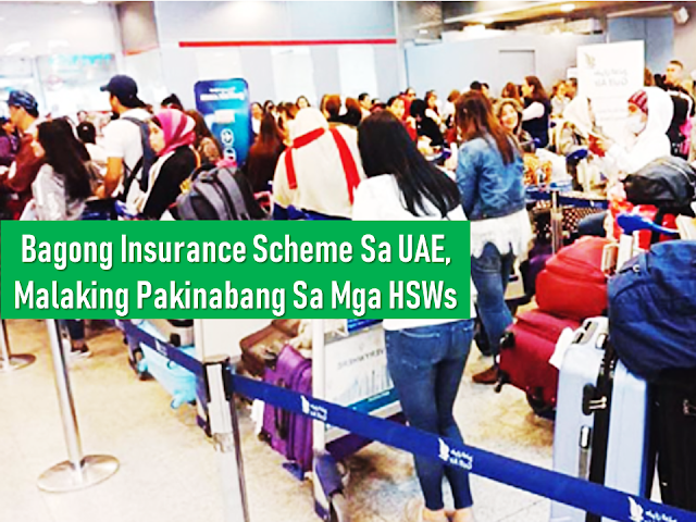 "A large proportion of overseas Filipino workers(OFW) deployed in different parts of the world are household service workers (HSWs). A new announcement from the  Ministry of Human Resources and Emiratization (MOHRE) has shed a new light on the HSW sector in the United Arab Emirates.      Ads     Sponsored Links    MOHRE announced that the currently mandatory Dh3,000 bank guarantee deposit per worker will be replaced by an annual Dh60 insurance per worker starting this month.  The implementation of the new system will result in the price of hiring household service workers (HSWs) in the UAE to become cheaper once the new insurance scheme is implemented.  The insurance policy will cover end-of-service benefits, vacation and overtime allowance, return air ticket, unpaid wages, and cases of the work injury.  The insurance will also cover the cost of replacing the worker for health reasons or if the domestic worker wants to cancel the working relationship with the employer. The total amount covered by the insurance is Dh20,000.  MOHRE will begin disbursing the bank guarantees paid earlier by private employers amounting to Dh14 million starting October 15. Those who had salary-related violations six months before work permit renewal, however, would not be able to reimburse their bank guarantees.  The insurance scheme was one of the new laws approved by His Highness Sheikh Mohammed bin Rashid Al Maktoum, Vice President and Prime Minister of the UAE and Ruler of Dubai, in June.  ""Our goal is to remain a top destination for ease of doing business, through an agile economy based on flexibility and openness,"" the UAE Vice President said in June.  Filed under the category of overseas Filipino workers(OFW), household service workers, Ministry of Human Resources and Emiratization, HSW, United Arab Emirates"