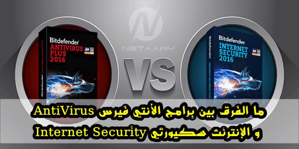 ما الفرق-بين-برامج-الأنتي-فيرس-AntiVirus-والإنترنت-سكيورتي-Internet-Security
