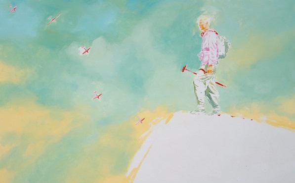 """Norbert Bisky, """"Ich will nachhause Mutti"""", 2003."""