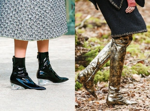 2018-2019 Fall-Winter Women's Boots Fashion Trends