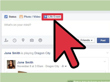 How to Add a Life Event on Facebook