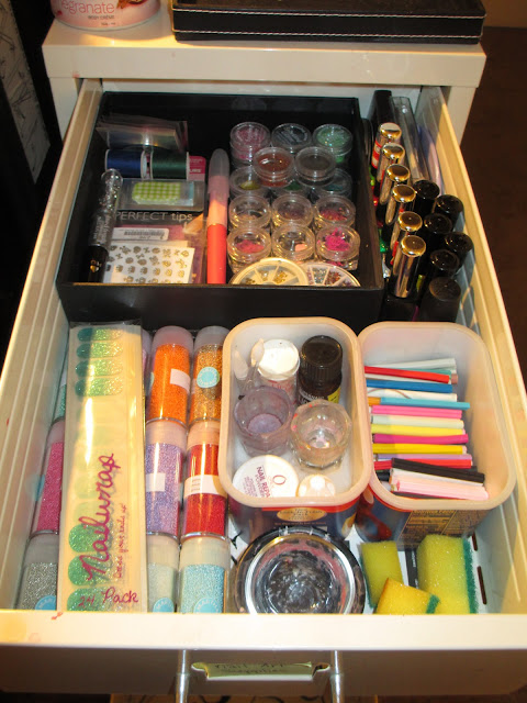 Spring Cleaning, Ikea Helmer, nail polish storage, nail art storage, cabinet, drawers