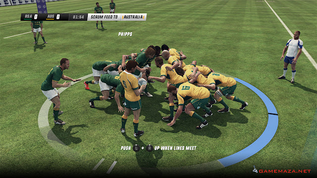 Rugby World Cup 2015 Gameplay Screenshot 2