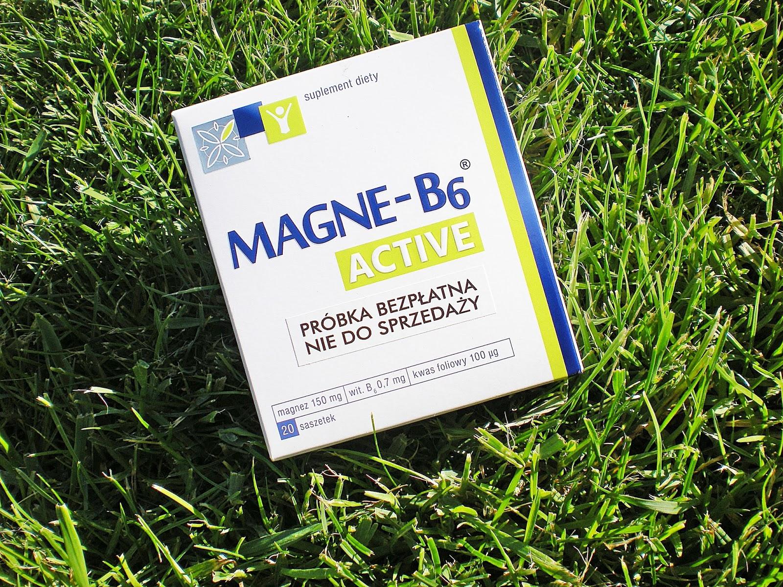 Magnez Magne-B6 Active