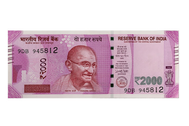 New Indian Rupee 2000