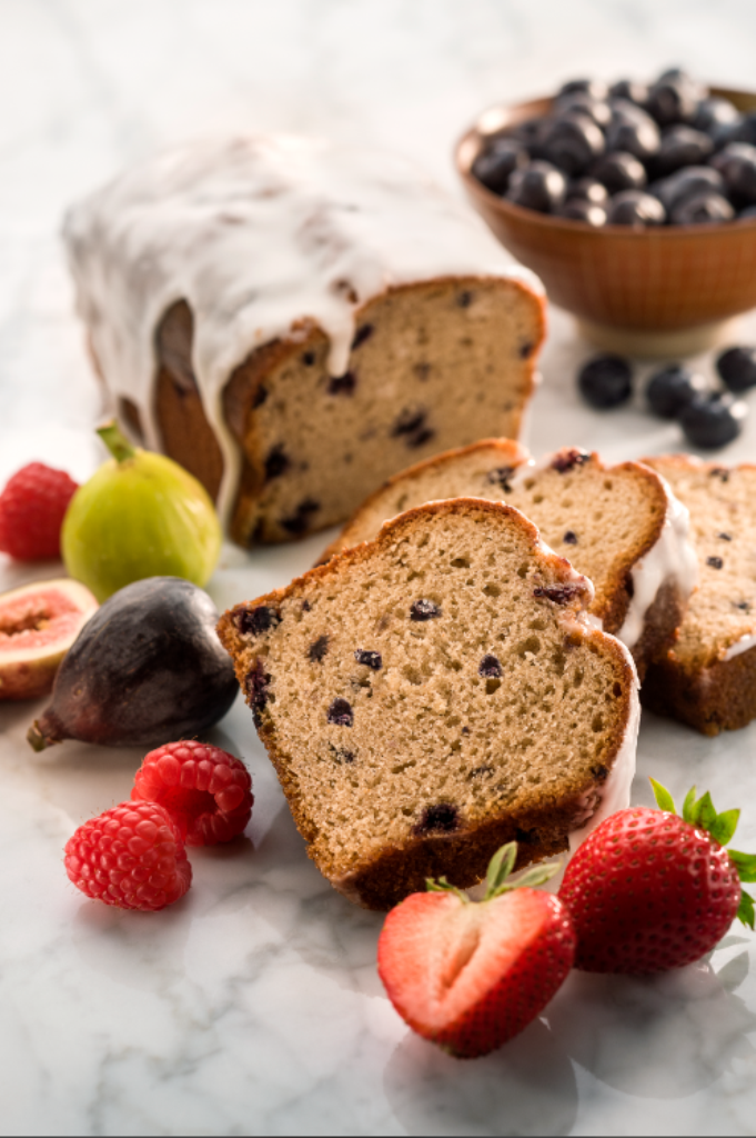 Blueberry Loaf #recipe by chef Zipora