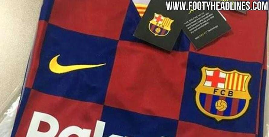 4a6760197 Barcelona 19-20 Home Kit Leaked