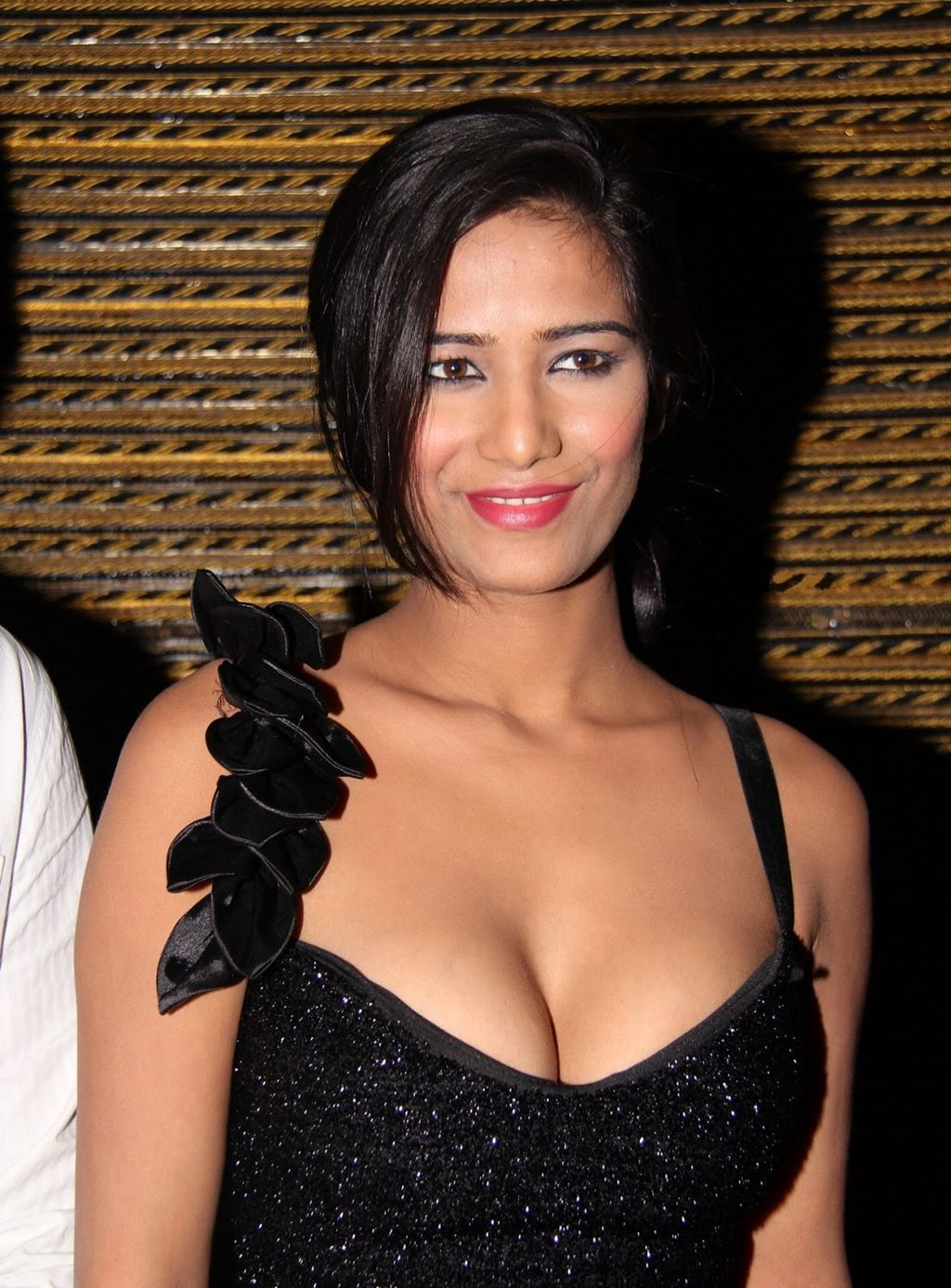 naughty exotic Poonam pandey hot photos gallery in black