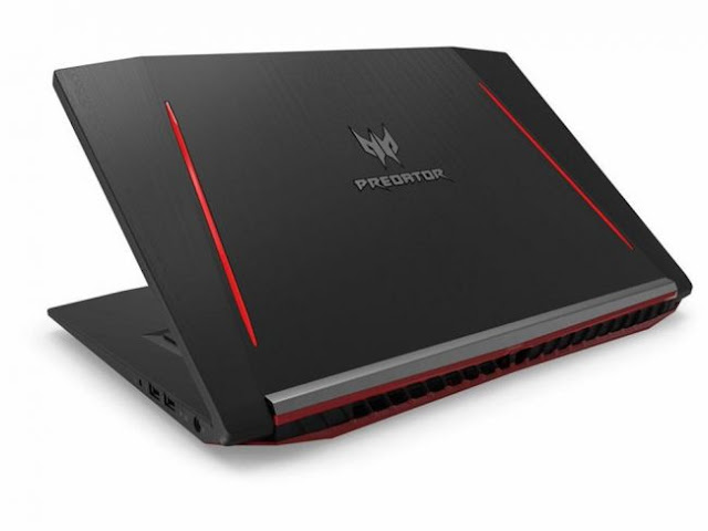 Laptop Gaming Acer Predator Helios 300, Berbekal GTX1060 dan Core i7-777