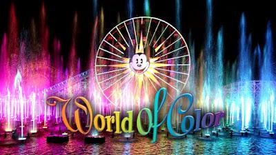 World of Color, Disneyland, California, Amerika Serikat