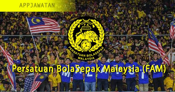 Jawatan Kosong di Persatuan BolaSepak Malaysia (FAM)