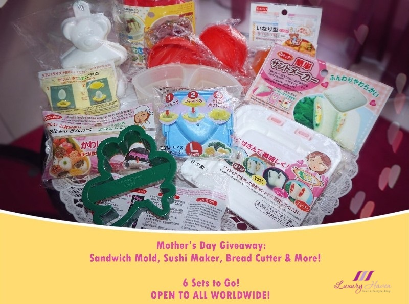 mothers day giveaway daiso kitchen gadgets