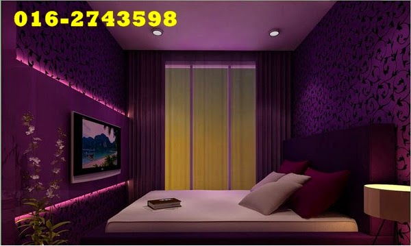 Purple Mempunyai Warna Yang Berbeza Dan Dari Nada Kaya Dengan Mendalam Kepada Cahaya Teduh Pastel Terdapat Ada Ruang Dalam Sebuah Rumah