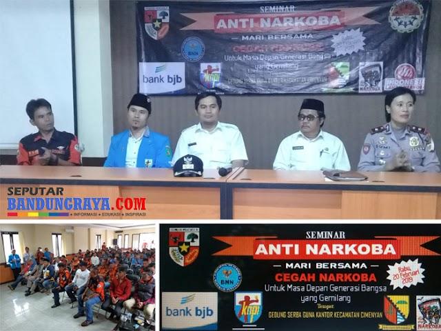 Pemuda Pancasila, PK KNPI, dan Bank bjb Gelar Seminar Anti Narkoba
