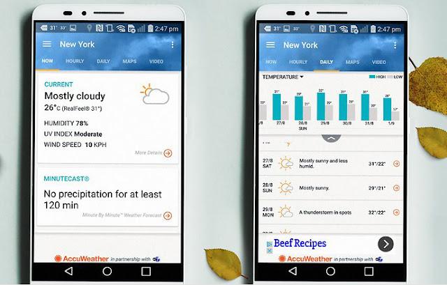 9 Aplikasi Cuaca dan Widget Terbaik  untuk Android. 8