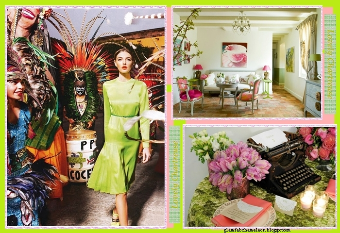 chartreuse color inspiration