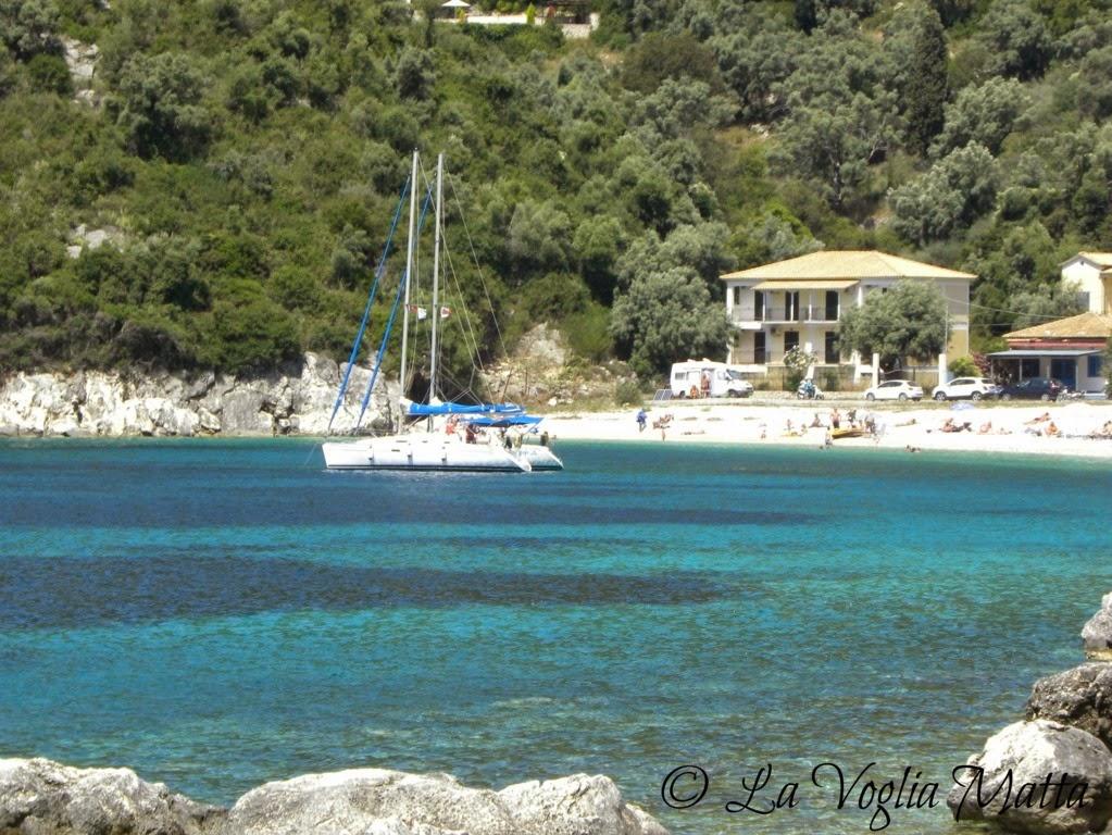 Mikro Gialos Lefkada Grecia