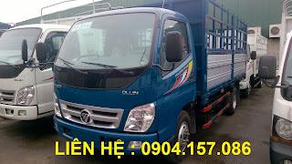 Xe Thaco Ollin 500B tải trọng 5 Tấn Hải Phòng