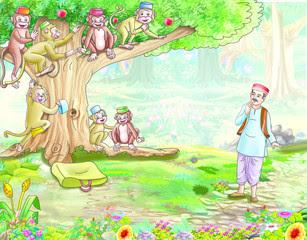 Cap seller and Monkeys story