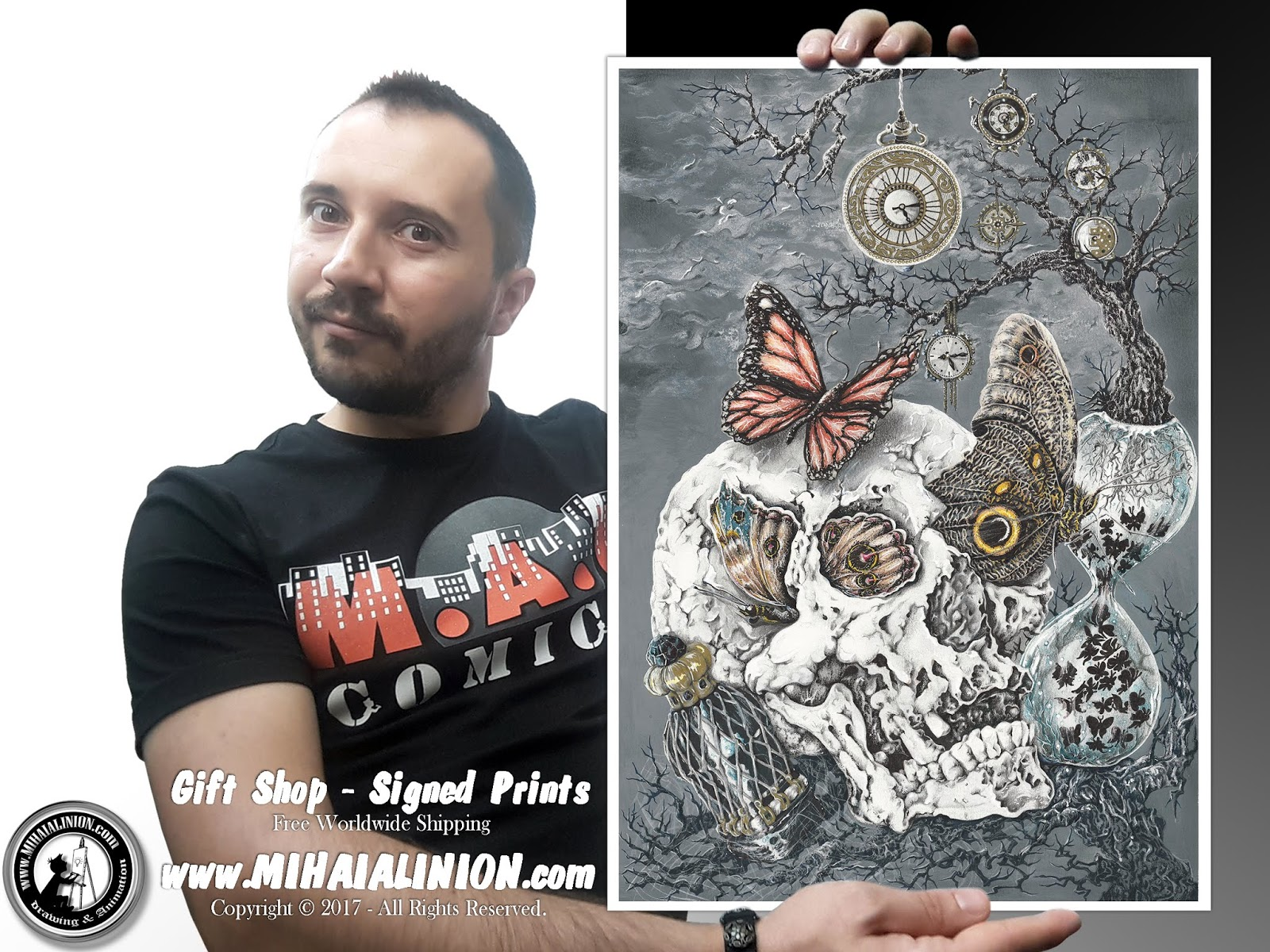 Drawing Vertex, Drawing Skull, Drawing fantasy art, skull art, butterfly on skull, painting skulls, butterfly effect, insane skull design, drawing vertex skull, how to draw a skull, how to draw tattoo, tattoo design, youtube artist, MAI Comics, Mihai Alin Ion, art by mihai alin ion, how to draw, artselfie, drawing ideas, free drawing lessons, drawing tutorial, art, drawing timelapse, dessin, disegno, dibujo, drawing, illustration, painting, design, realistic 3d art, coloured pencils, www.mihaialinion.com, 2017, pencil drawing, tempera, acrilics paint, marker, gouache painting, mixed media, comics, comic book, caricature, portrait, cum sa desenezi, caricaturi mihai alin ion, caricaturi si portrete  la comanda, eveniment caricaturi, caricaturi la nunta, caricaturi la botez, caricaturi la majorat, desene pe pereti, desene pentru copii, ilustratie carte, benzi desenate, caricaturi, portrete, comanda caricaturi