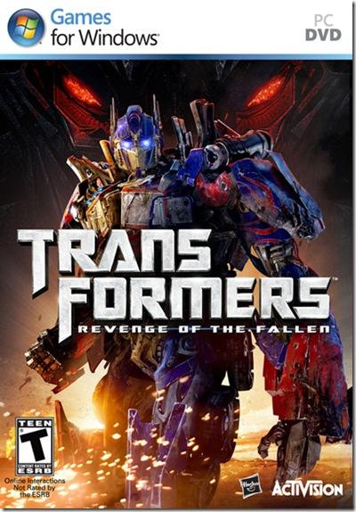Transformers Revenge of the Fallen pc full español iso por mega 1 link