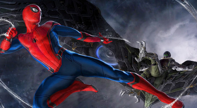 Sony Unveil Spider-Man: Homecoming VR Game Trailer And Release Date.