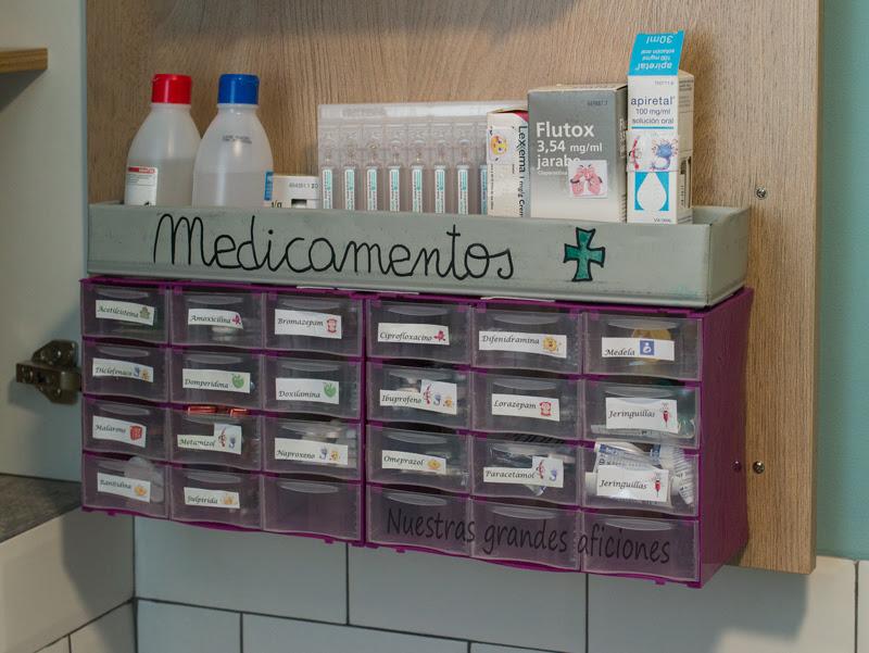 Organizador de medicamentos nuestras grandes aficiones - Organizador cajon oficina ...
