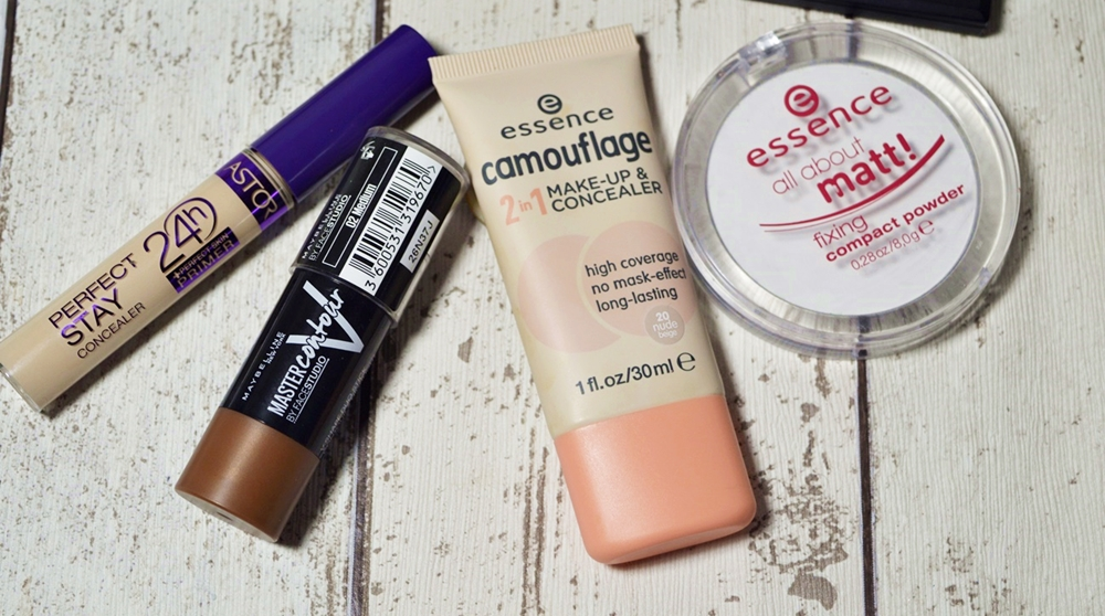 Used products teint products - foundation contouring stick concealer