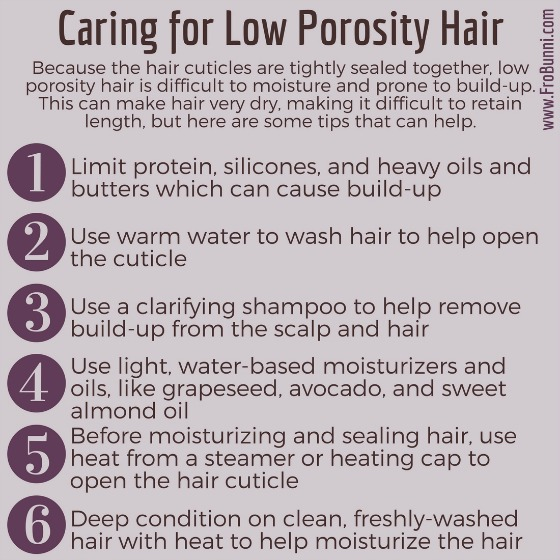 Dealing With Low Porosity Natural Hair Frobunni