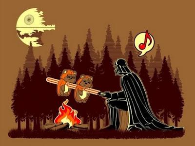 Darth Vader de acampada