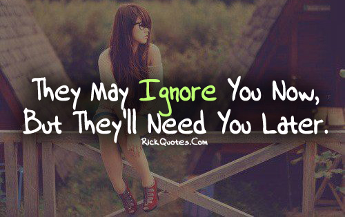Ignore Quotes | Need You Later
