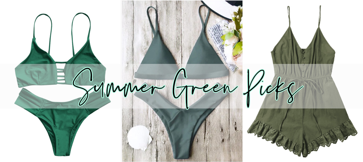 SUMMER GREEN STYLES