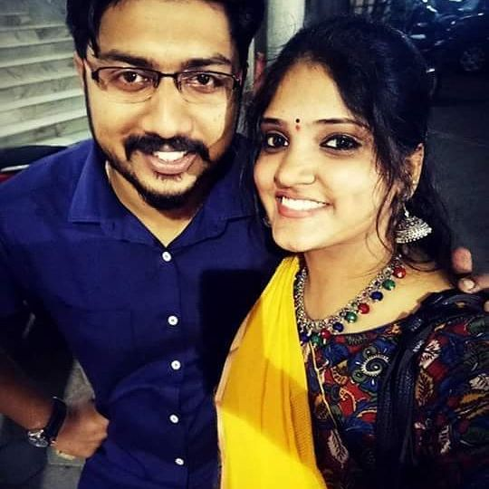 Carnatic Musician Sai Charan and Playback Singer Harini Got