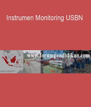 Instrumen Monitoring USBN | Administrasi