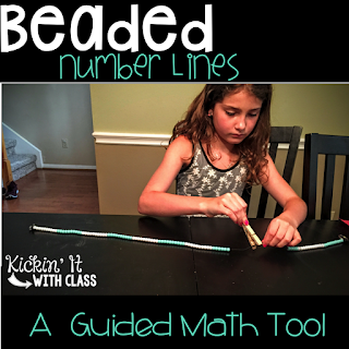 math tool, guided math, beaded number line, math,