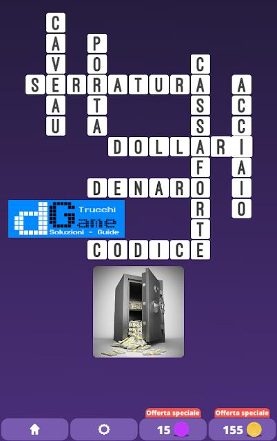 Soluzioni One Clue Crossword livello 14 schemi 9 (Cruciverba illustrato)  | Parole e foto