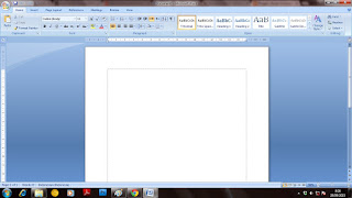 Belajar dan Mengenal Microsoft Word 2007 Untuk Pemula