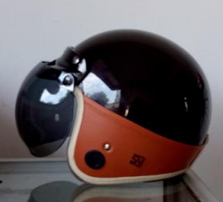 Daftar harga helm bogo kulit asli classic retro sni untuk vespa matic unik terbaru beserta gambarnya