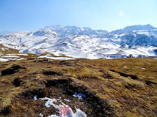 Gorson Bugyal Latest Snowfall