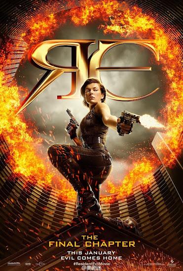 ตัวอย่างหนังใหม่ : Resident Evil: The Final Chapter (อวสานผีชีวะ) ซับไทย poster 1