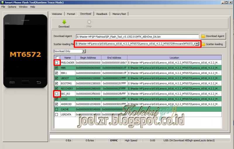Lenovo a516 firmware tested