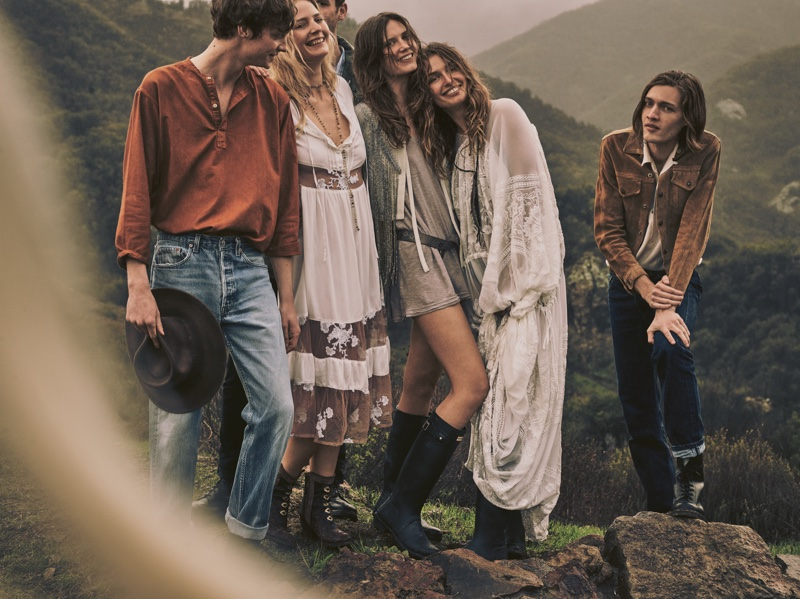 Free People goes boho chic for April 2016 Lookbook