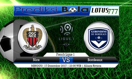 PREDIKSI SKOR Nice vs Bordeaux 17 Desember 2017