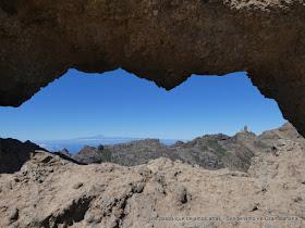 La Ventana del Nublo, el Roque Nublo y El Teide