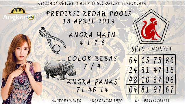 Prediksi Angka Jitu KEDAH POOLS 18 APRIL 2019