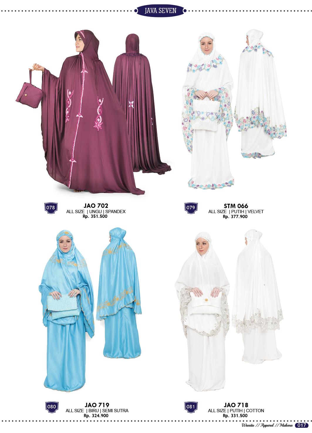 Katalog Terbaru Java Seven 2017-2018 Fashion Pria Wanita