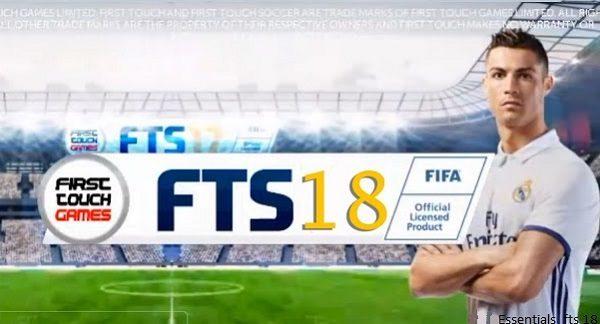 أول لمسة لكرة القدم 2018 - FTS 18 APK تحميل Obb Data Mod لعبة الروبوت