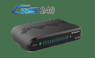 Globalsat GS 240 Atualização V2.33 - 01/11/2018