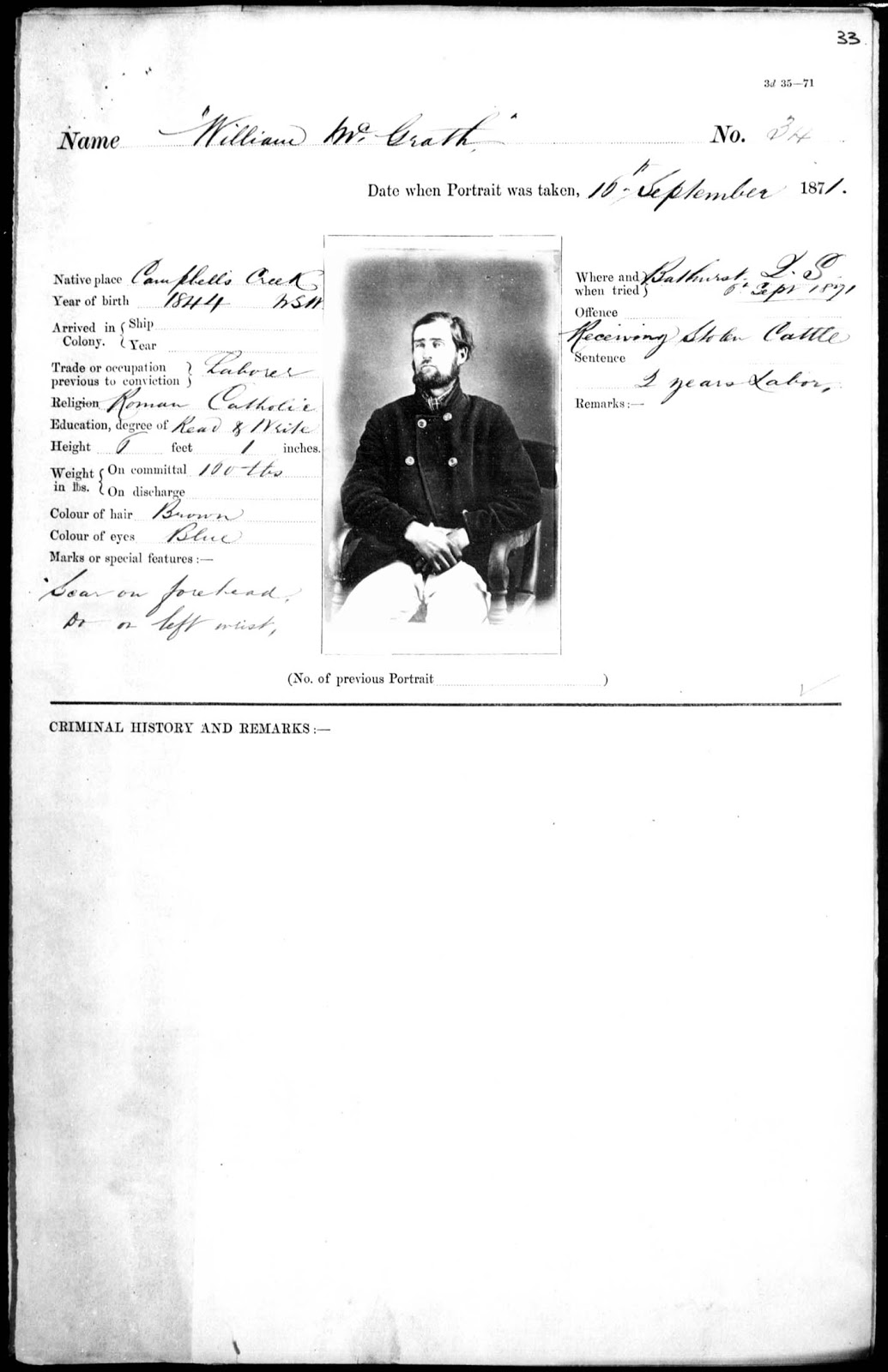 Thomas J. Nevin | Tasmanian Photographer: 19th century prison ...