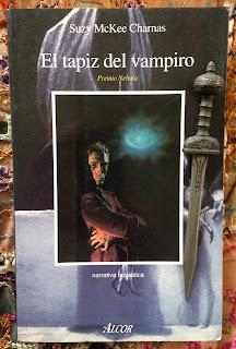 Portada del libro El tapiz del vampiro, de Suzy Mckee Charnas